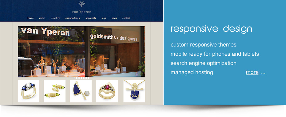 custom responsive wordpress sites