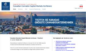 Canadian Cannabis Capital Markets Konferenz