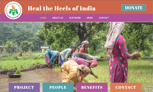 Heal the Heels of India
